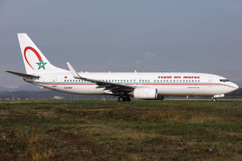CN-RNP - Royal Air Maroc Boeing 737-800