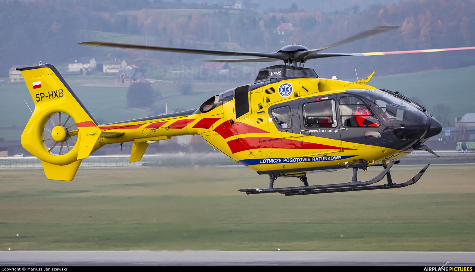 Polish Medical Air Rescue - Lotnicze Pogotowie Ratunkowe SP-HXB aircraft at Kraków - John Paul II Intl