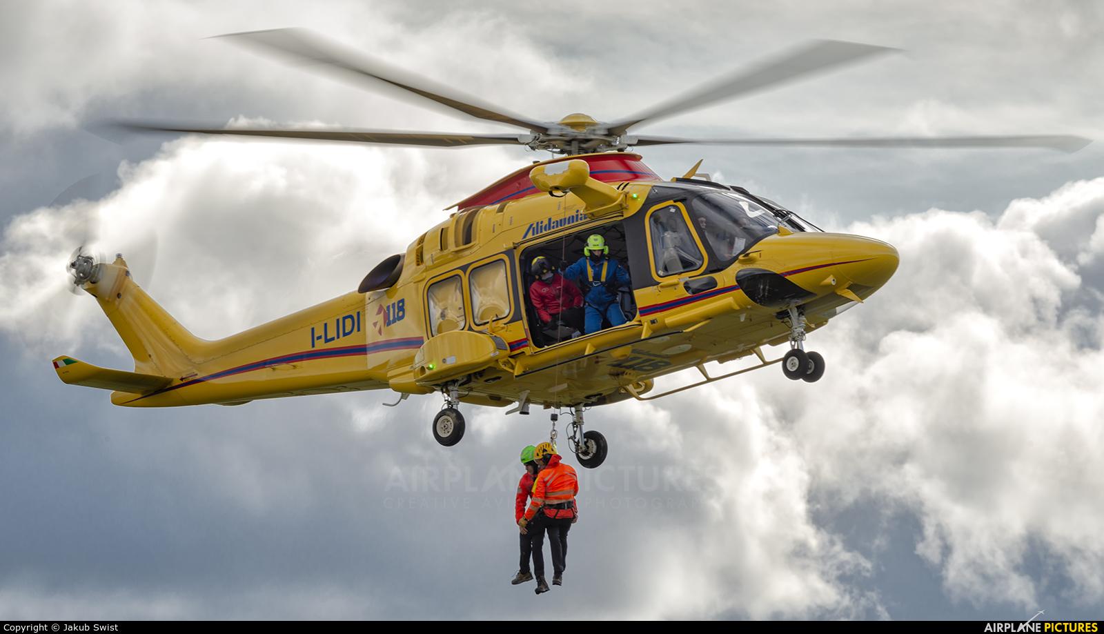 Alidaunia Società di Navigazione Aerea I-LIDI aircraft at Nowy Targ Airport