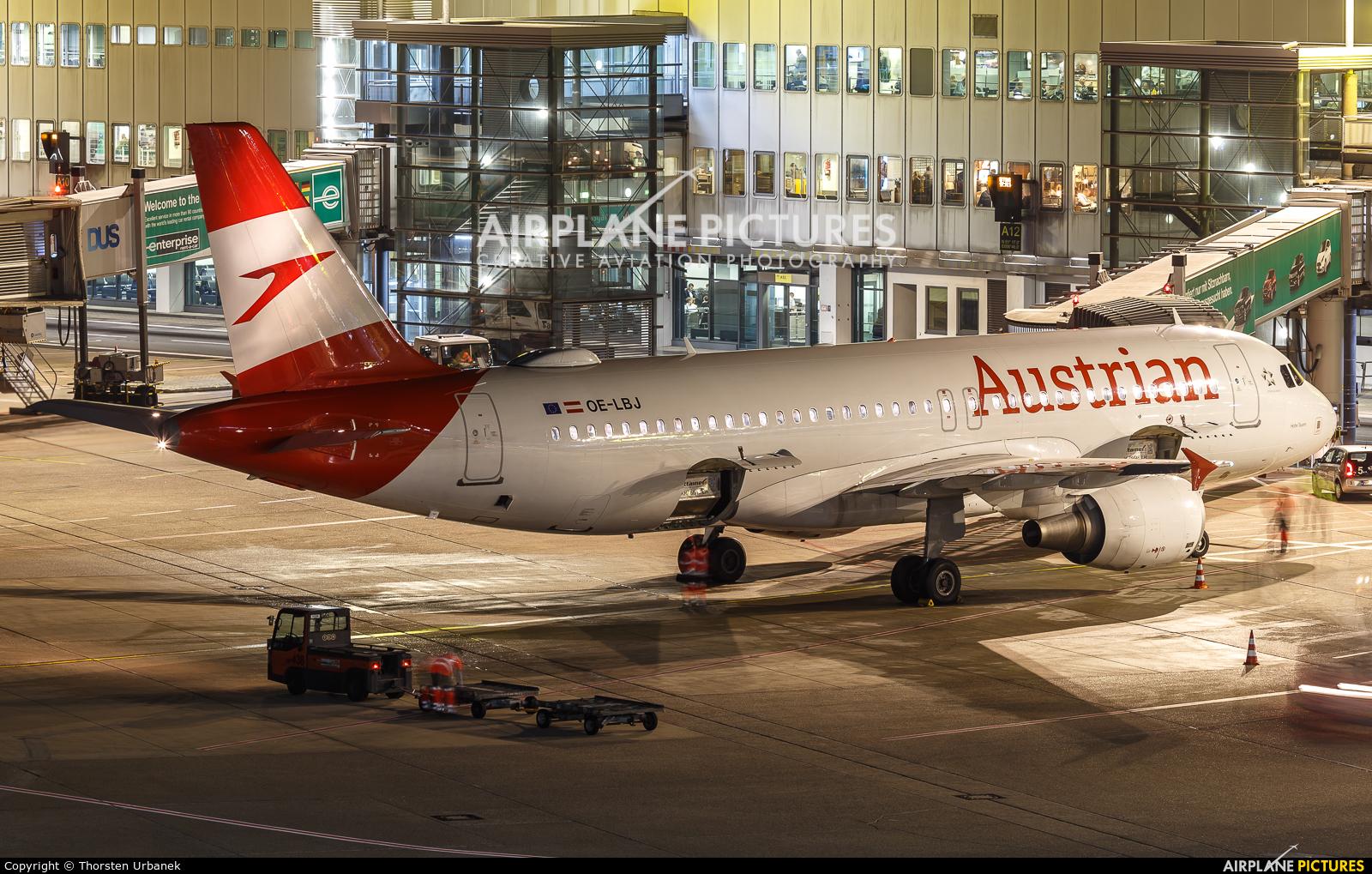 Austrian Airlines/Arrows/Tyrolean OE-LBJ aircraft at Düsseldorf