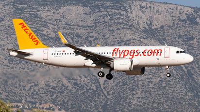 TC-NCC - Pegasus Airbus A320