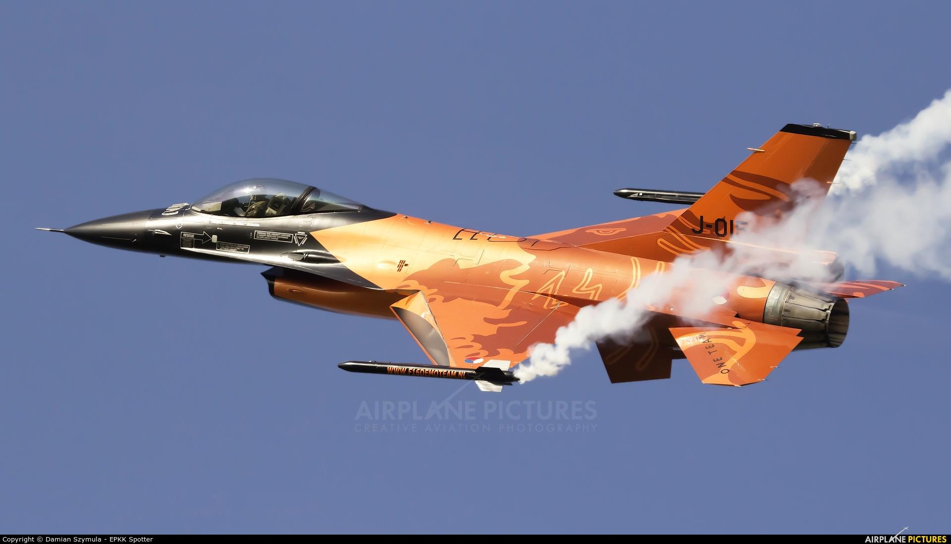 Netherlands - Air Force J-015 aircraft at Kraków - John Paul II Intl