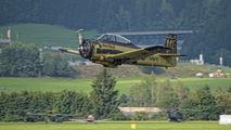 OE-ESA - Red Bull North American T-28B Trojan aircraft
