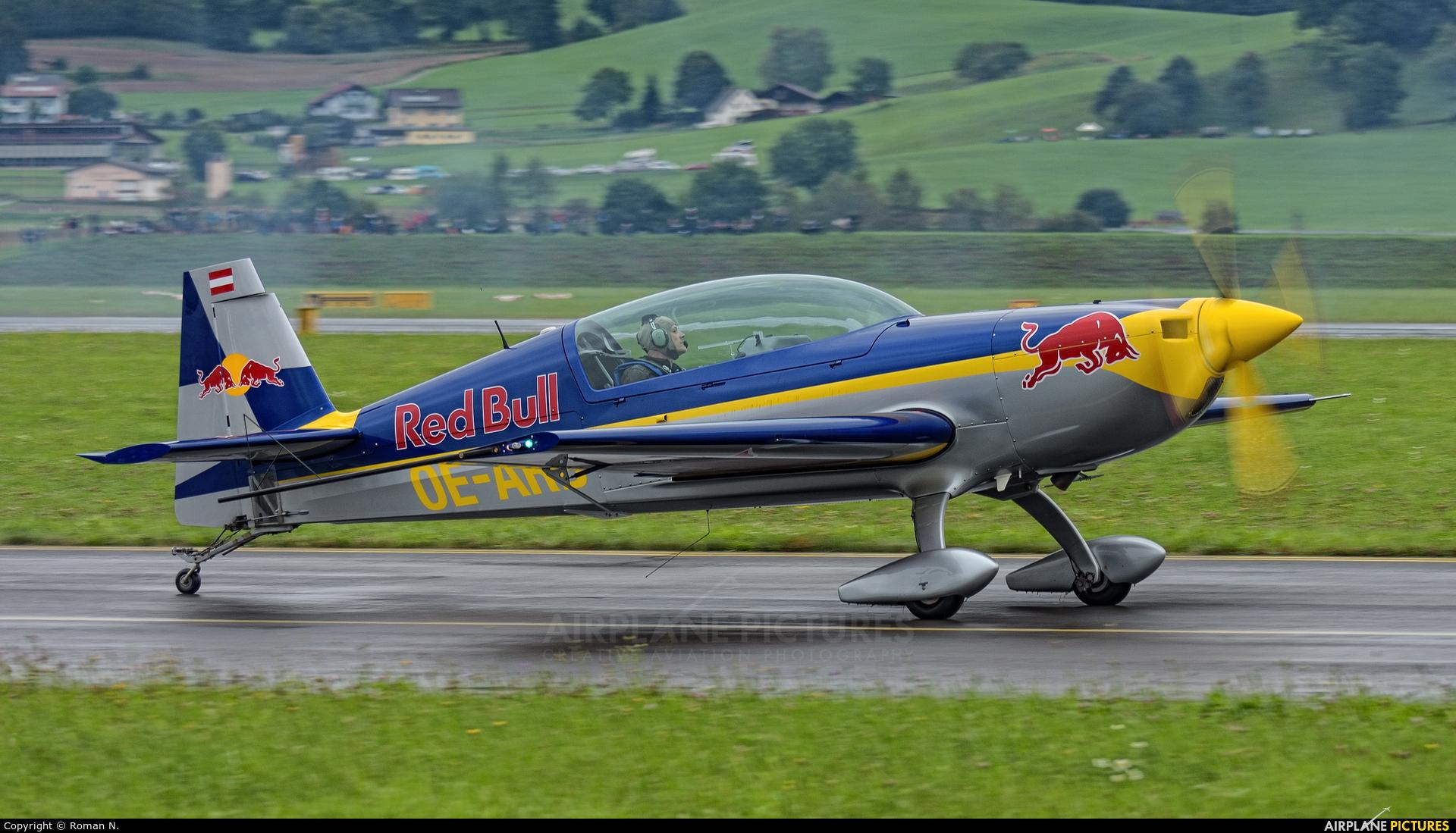 Red Bull OE-ARB aircraft at Zeltweg