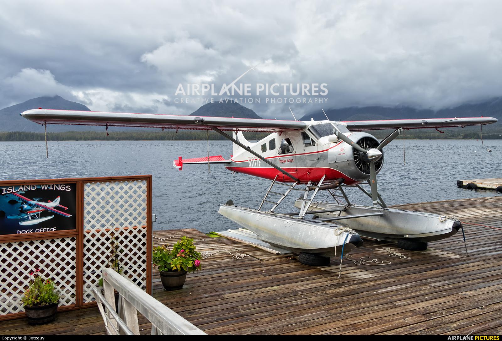 Island Wings N1117F aircraft at Ketchikan