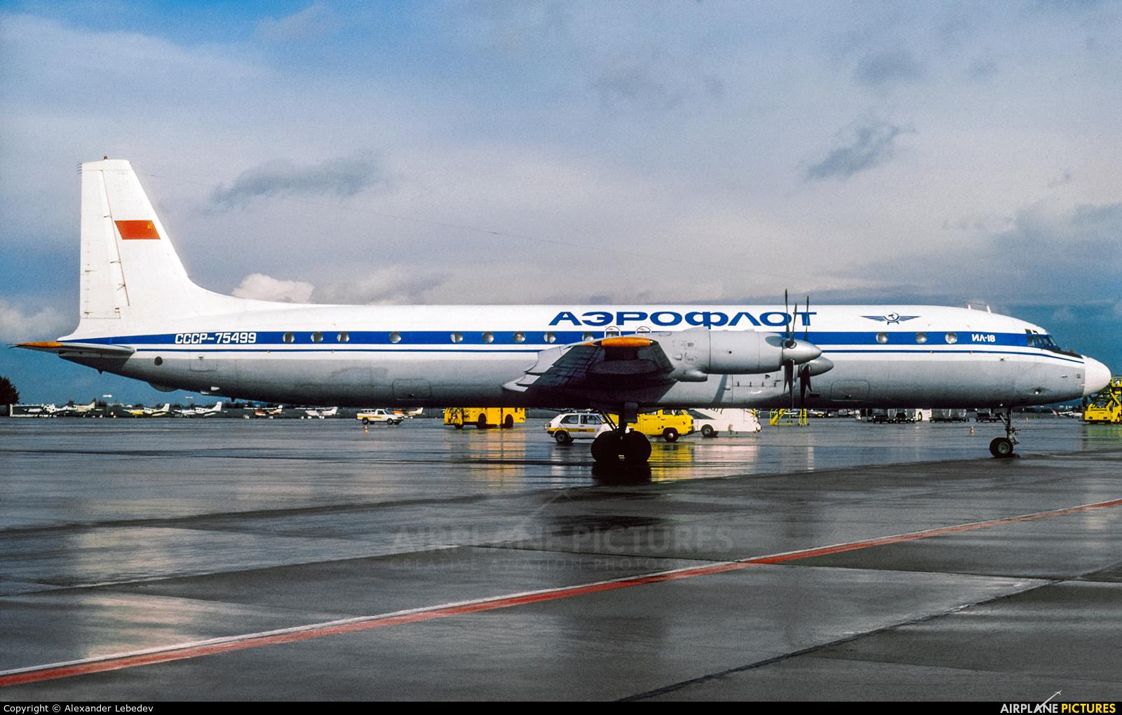 Aeroflot СССР-75499 aircraft at Stuttgart