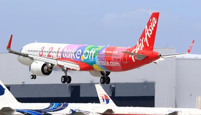 9M-VAA - AirAsia (Malaysia) Airbus A321 NEO