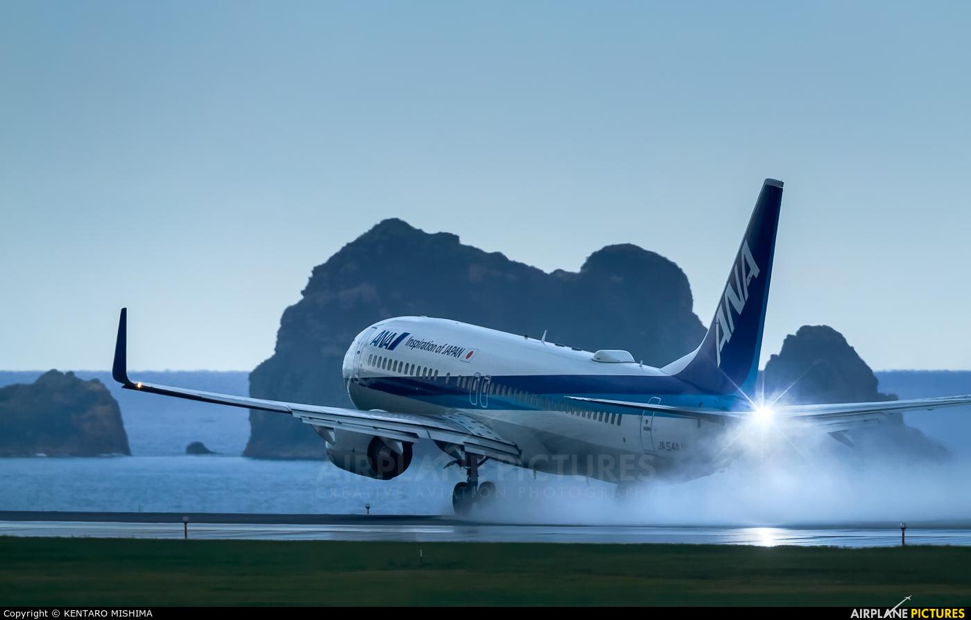 ANA - All Nippon Airways JA54AN aircraft at Tottori