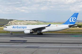 EC-JQG - Air Europa Airbus A330-200