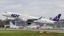 SP-LNP - LOT - Polish Airlines Embraer ERJ-195 (190-200) aircraft