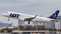 SP-LII - LOT - Polish Airlines Embraer ERJ-175 (170-200) aircraft