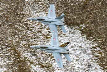 J-5011 - Switzerland - Air Force McDonnell Douglas F/A-18C Hornet