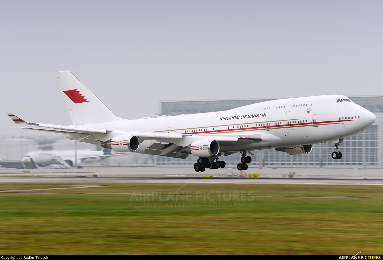 Bahrain Amiri Flight A9C-HAK aircraft at Munich