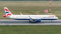 G-NEOW - British Airways Airbus A321 NEO aircraft