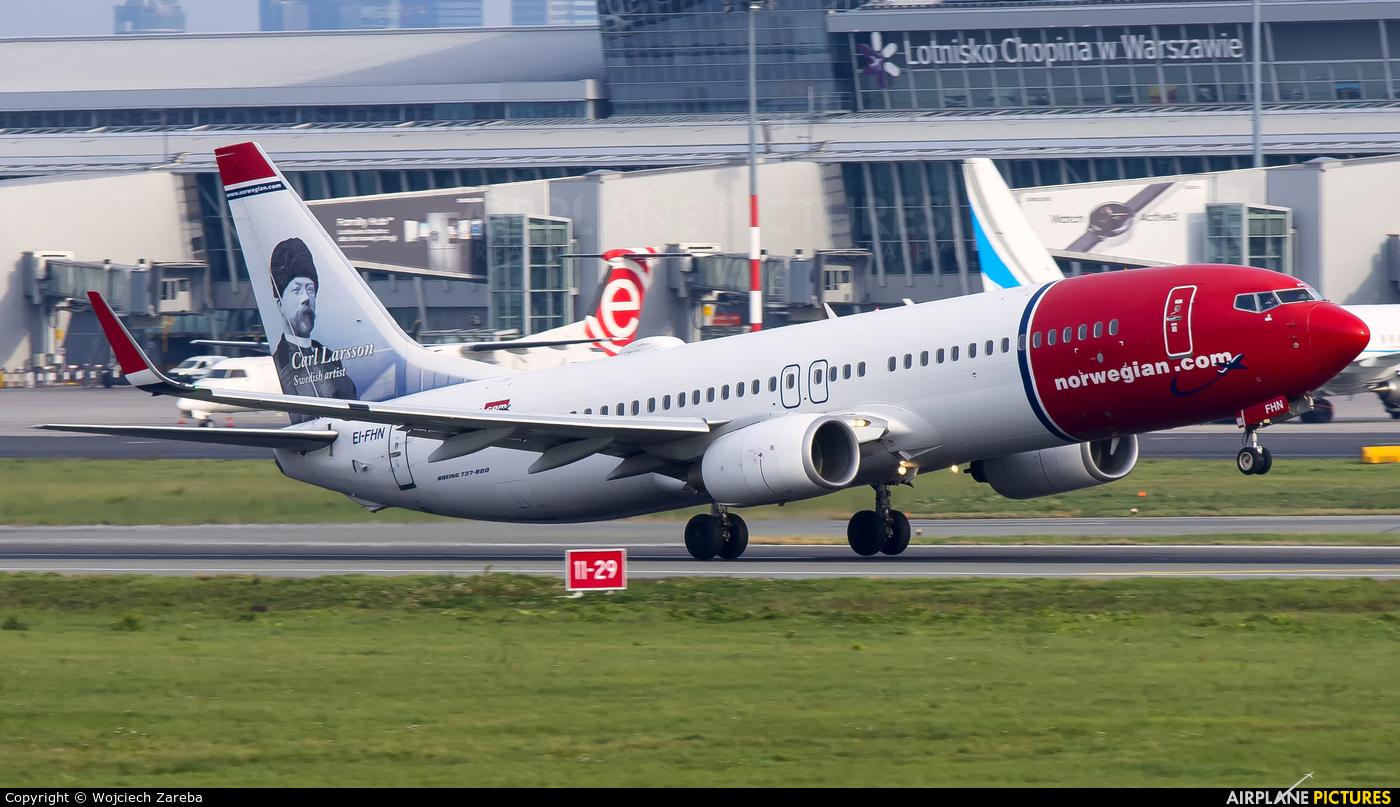 Norwegian Air International EI-FHN aircraft at Warsaw - Frederic Chopin