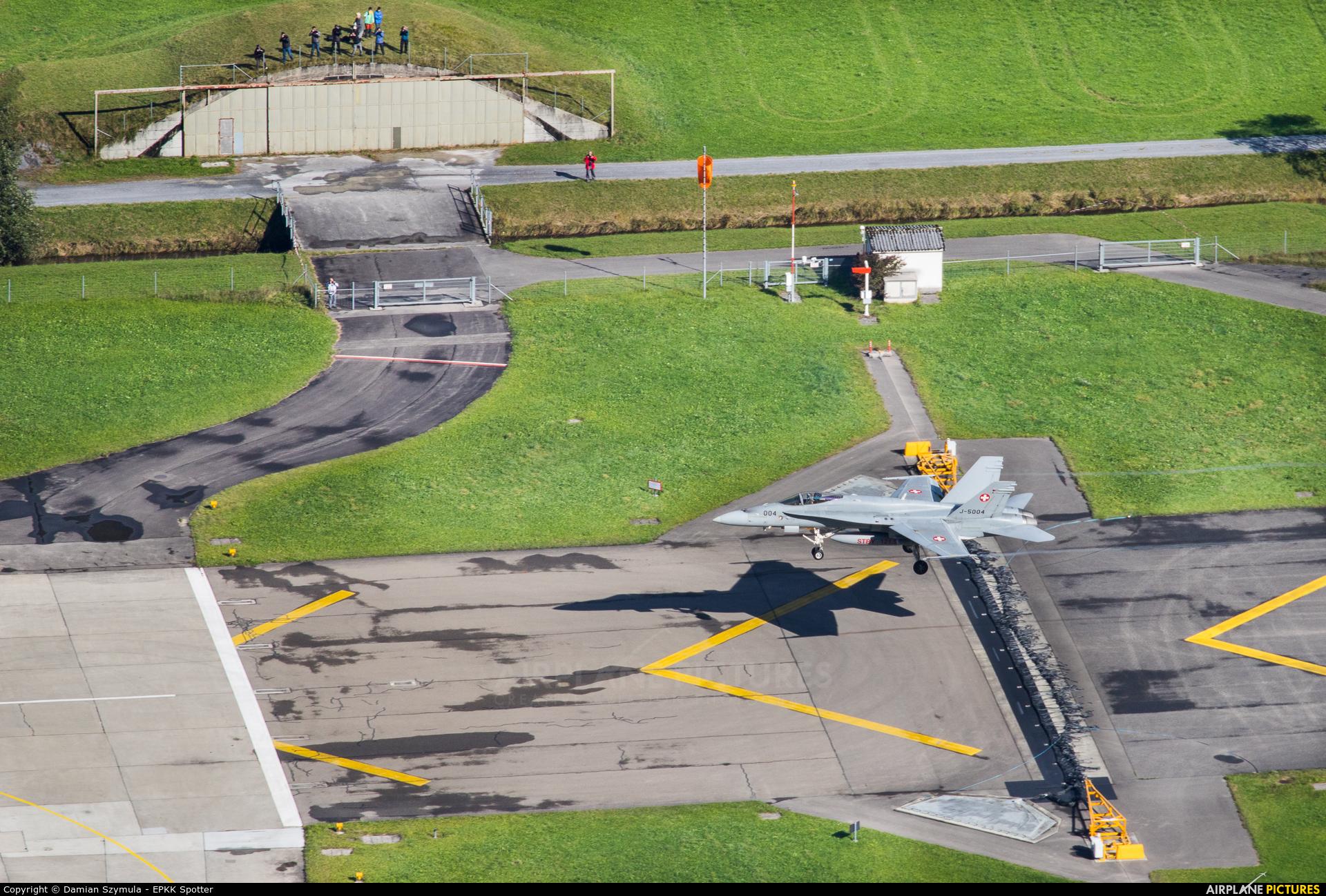 Switzerland - Air Force J-5004 aircraft at Meiringen
