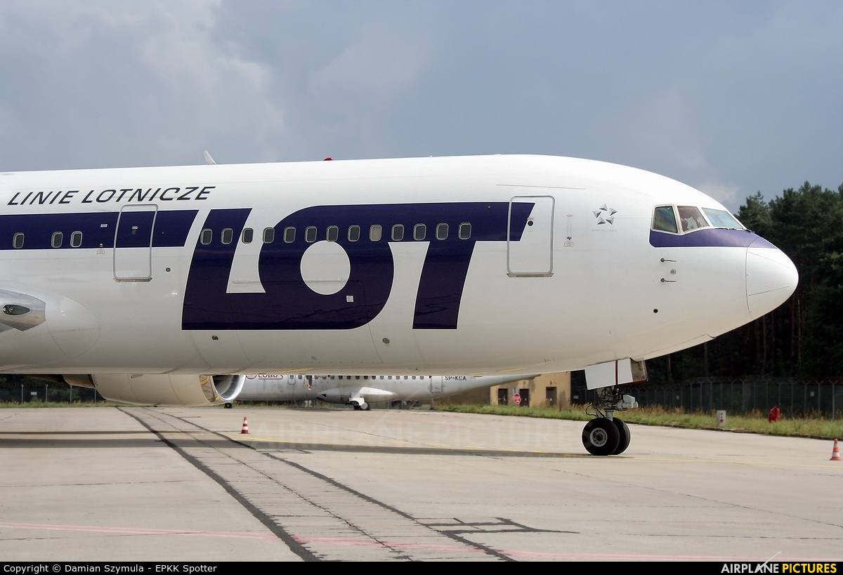 LOT - Polish Airlines SP-LPG aircraft at Katowice - Pyrzowice