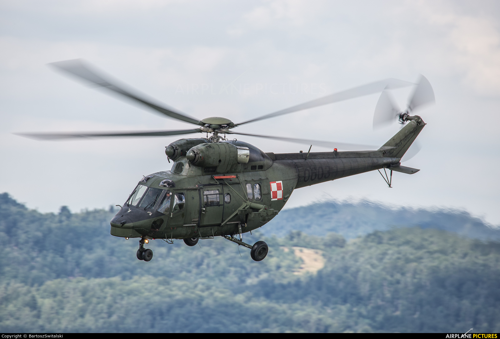 Poland - Army 0603 aircraft at Undisclosed location