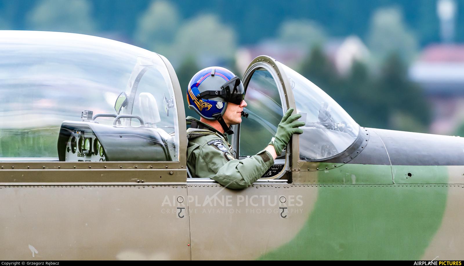 Austria - Air Force 3H-FA aircraft at Zeltweg