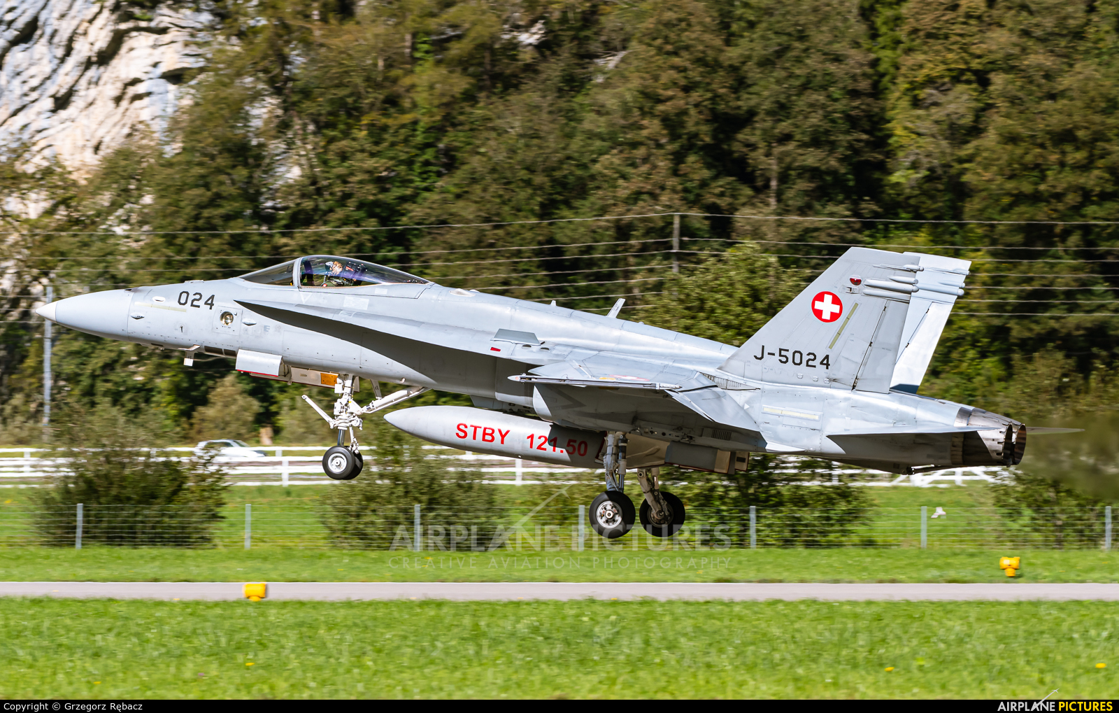 Switzerland - Air Force J-5024 aircraft at Meiringen