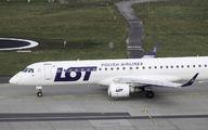 SP-LNM - LOT - Polish Airlines Embraer ERJ-195 (190-200) aircraft