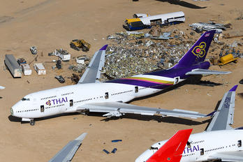 HS-TGN - Thai Airways Boeing 747-400