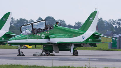 8817 - Saudi Arabia - Air Force: Saudi Hawks British Aerospace Hawk 65 / 65A