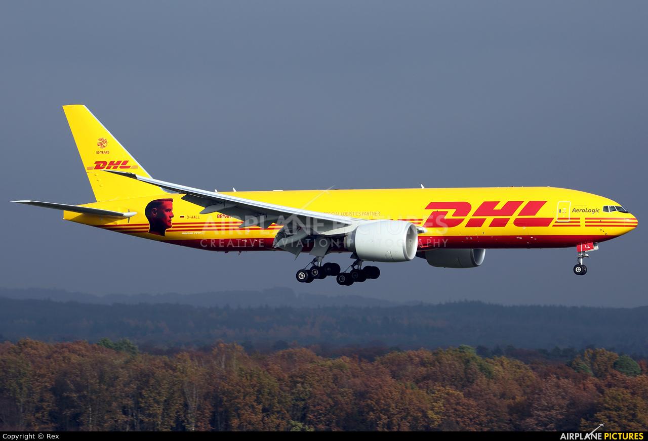 DHL (Aerologic) D-AALL aircraft at Cologne Bonn - Konrad Adenauer