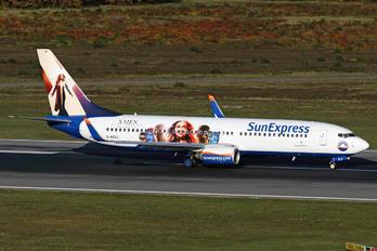 D-ASXJ - SunExpress Germany Boeing 737-800