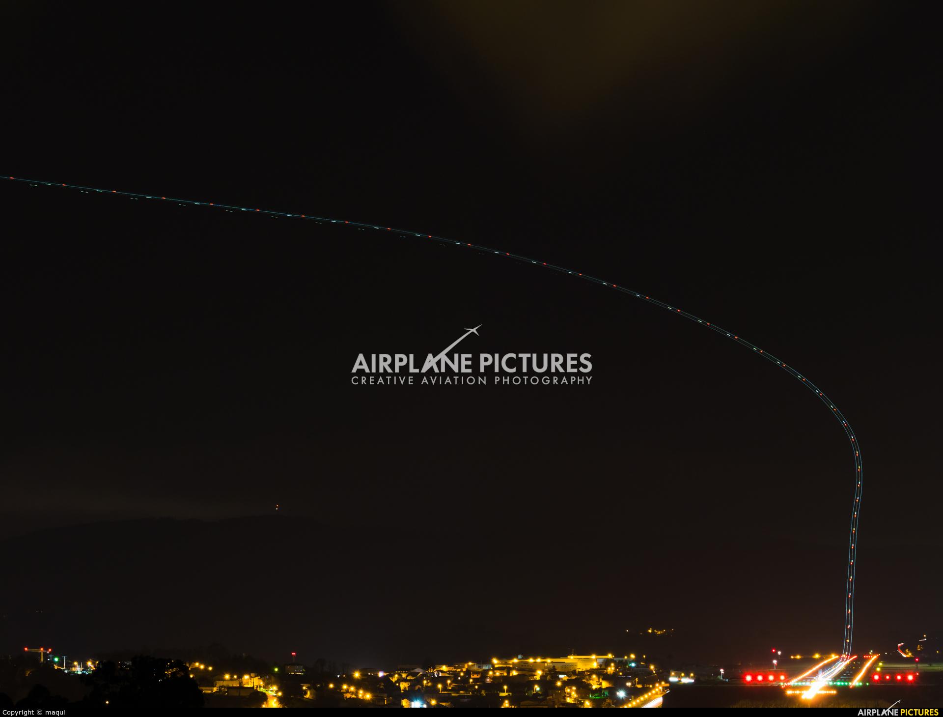 Vueling Airlines EC-NCT aircraft at La Coruña