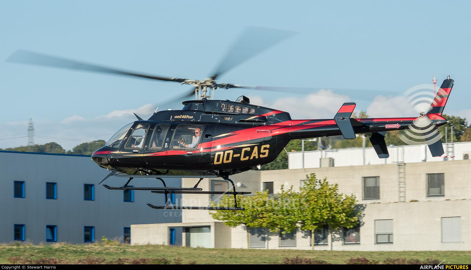 Private OO-CAS aircraft at Lausanne - La Blécherette
