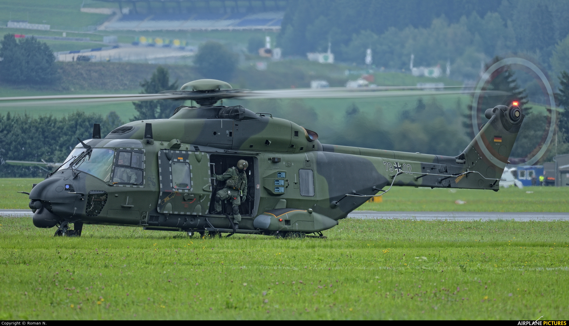 Germany - Air Force 79+02 aircraft at Zeltweg