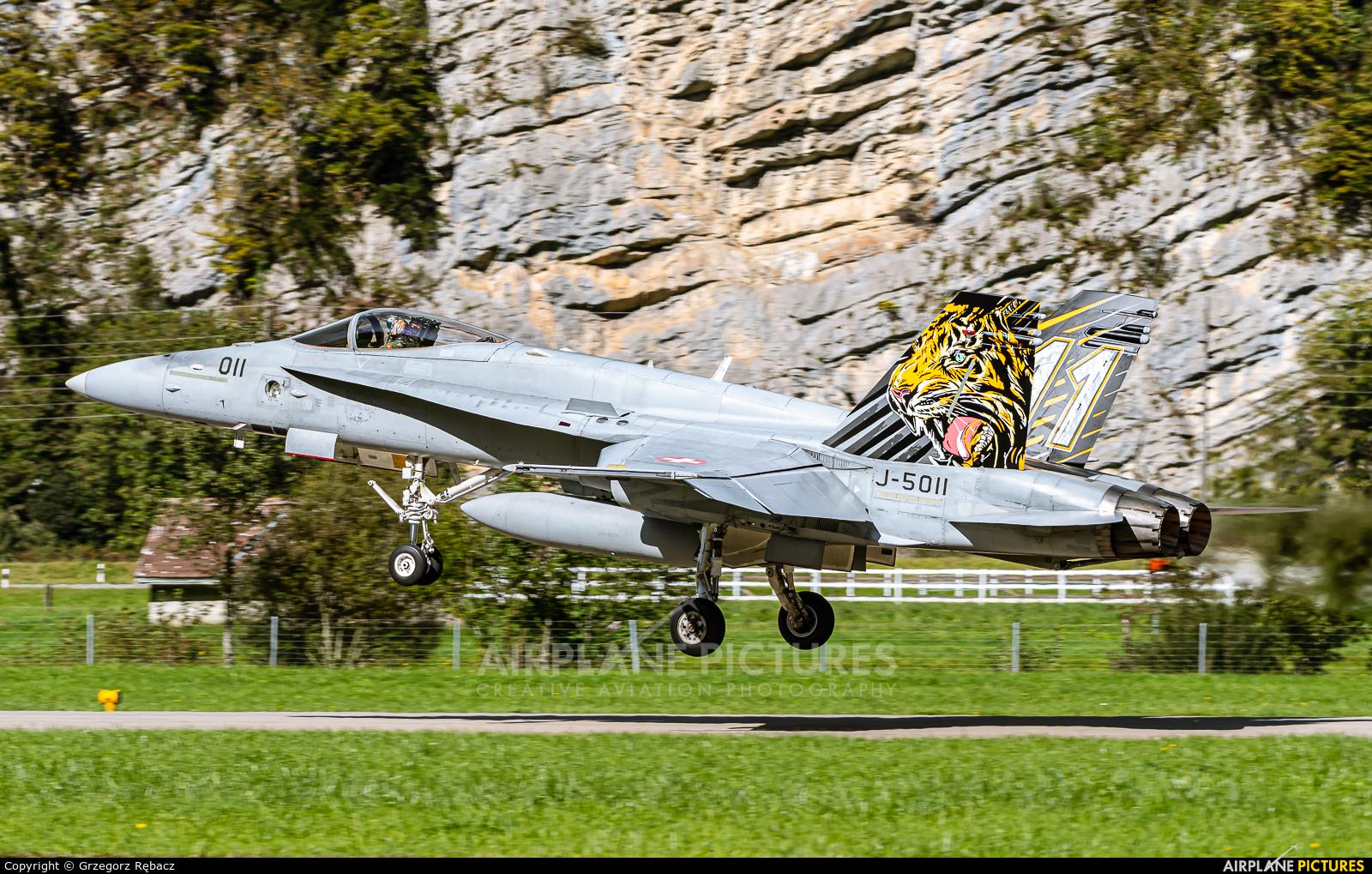 Switzerland - Air Force J-5011 aircraft at Meiringen