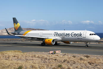 OY-TCF - Thomas Cook Scandinavia Airbus A321