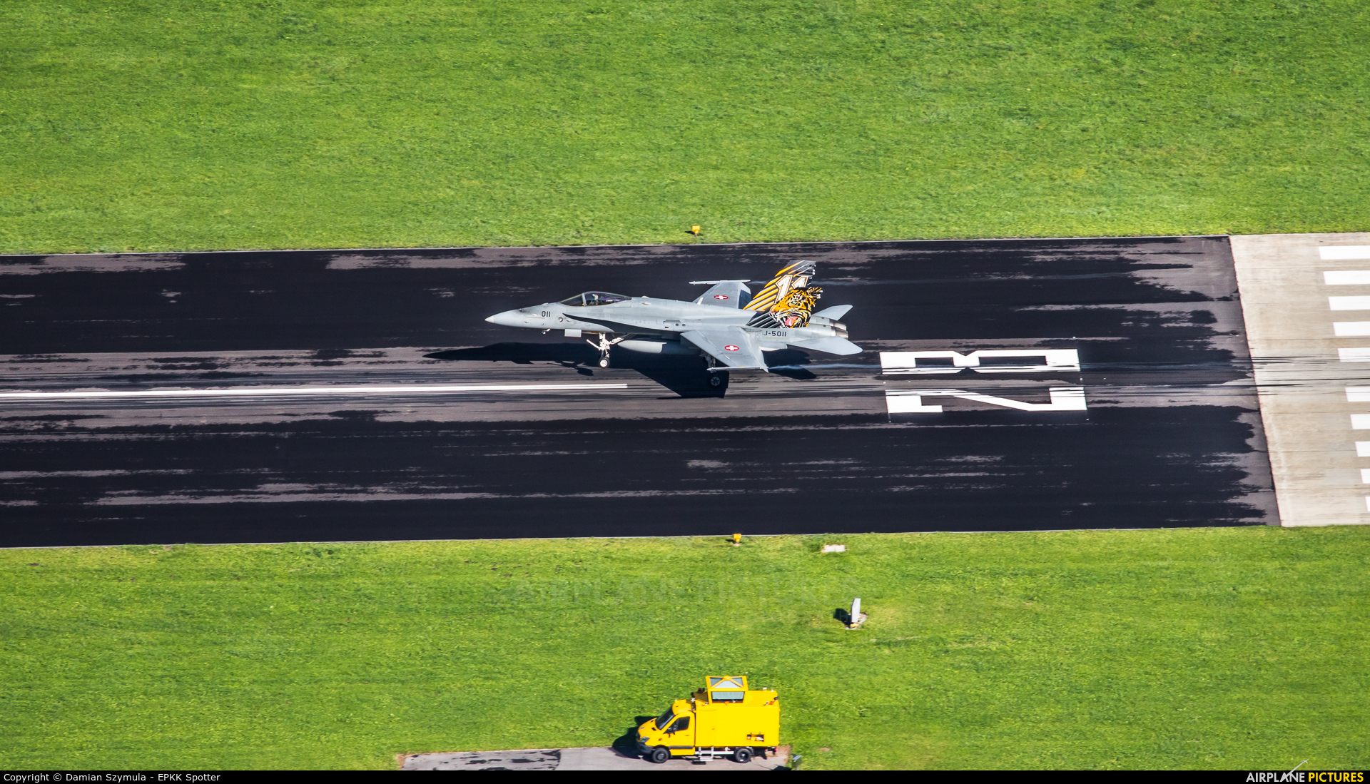 Switzerland - Air Force J-5011 aircraft at Meiringen