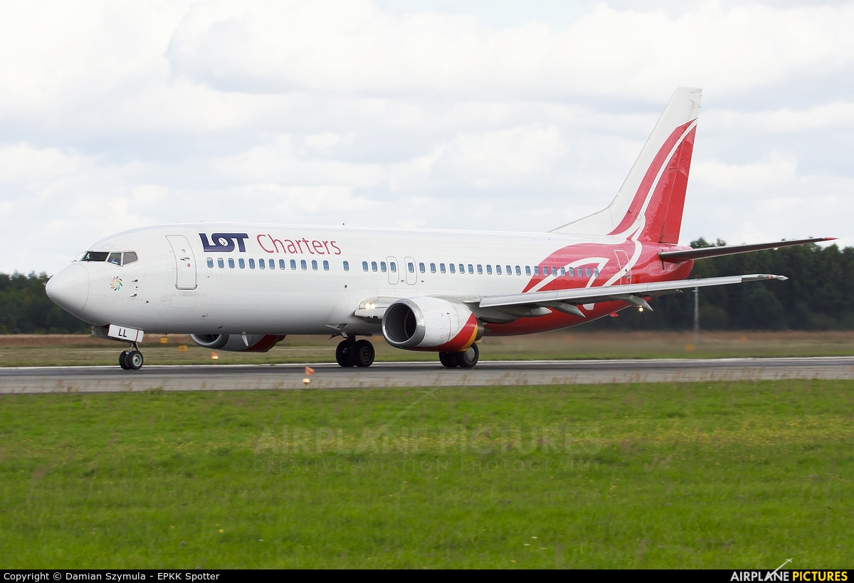 LOT Charters SP-LLL aircraft at Katowice - Pyrzowice