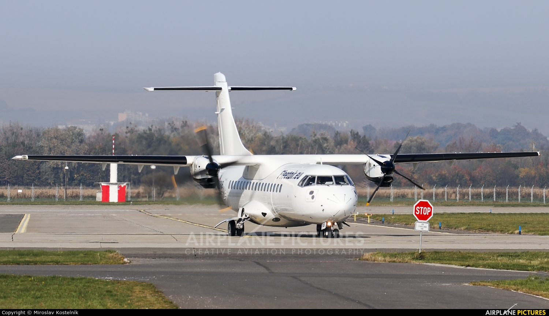 Fleet Air International LZ-FAB aircraft at Ostrava Mošnov