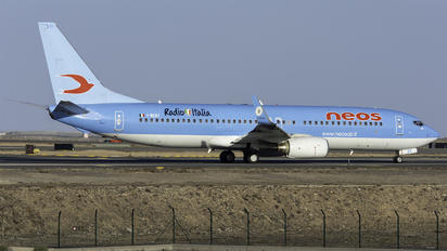 I-NEOT - Neos Boeing 737-800