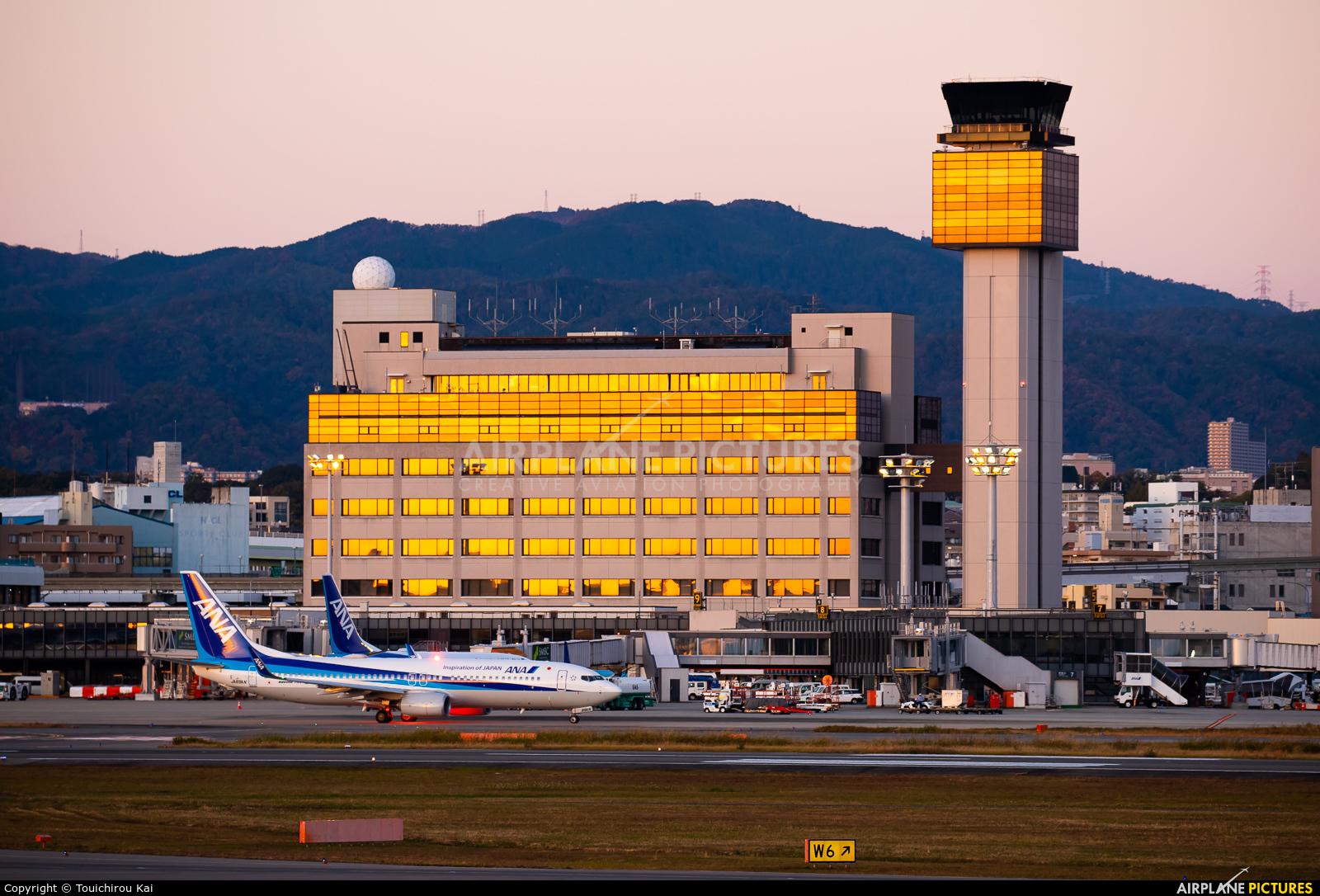 - Airport Overview - aircraft at Osaka - Itami Intl