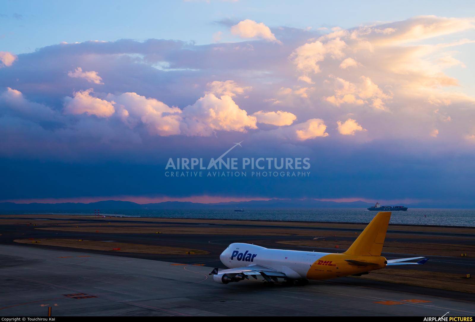 Polar Air Cargo N451PA aircraft at Chubu Centrair Intl