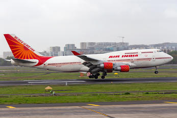 VT-ESP - Air India Boeing 747-400