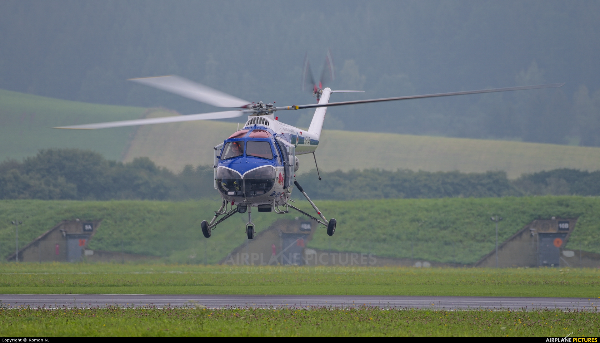 Red Bull OE-XSY aircraft at Zeltweg
