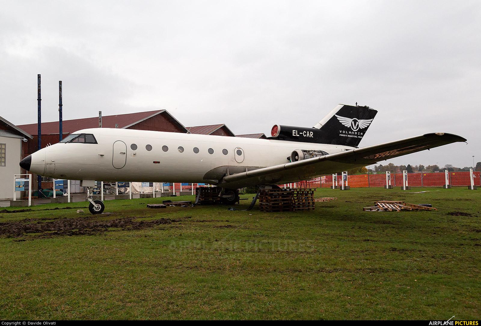 Untitled EL-CAR aircraft at Milan -  Volandia Aviation Museum