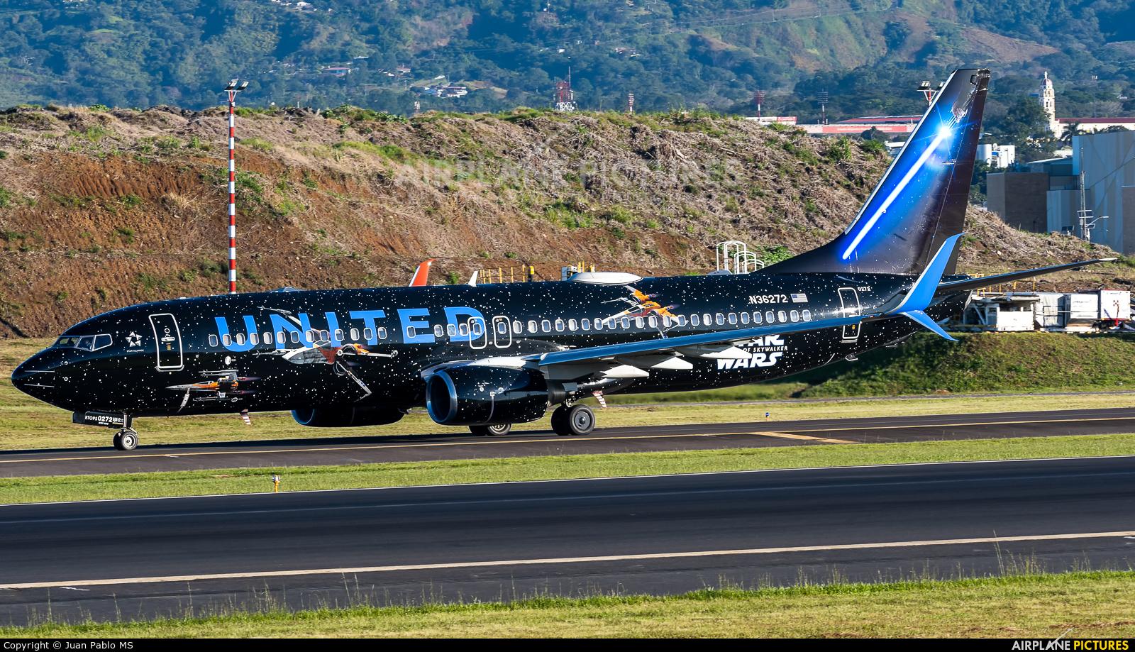 United Airlines N36272 aircraft at San Jose - Juan Santamaría Intl