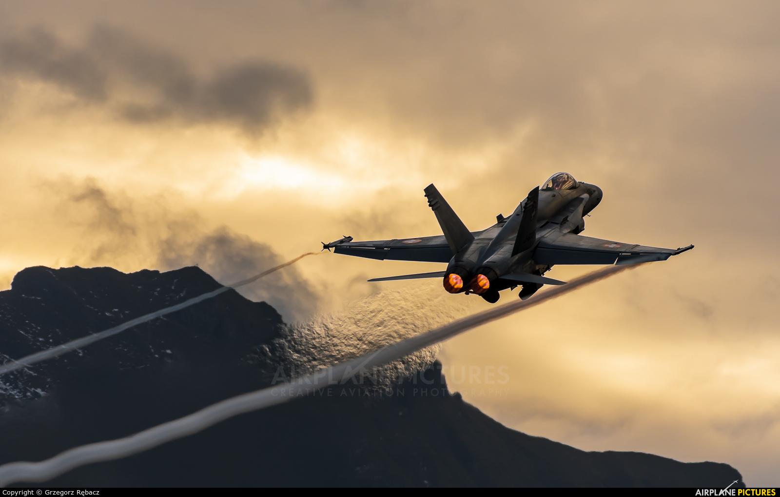 Switzerland - Air Force J-5006 aircraft at Meiringen