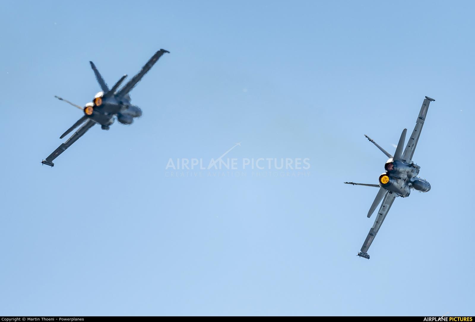 Switzerland - Air Force J-5012 aircraft at Axalp - Ebenfluh Range
