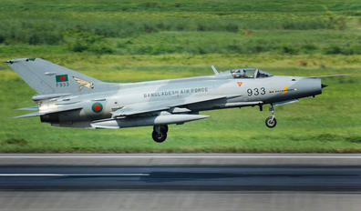 F933 - Bangladesh - Air Force Chengdu F-7BG