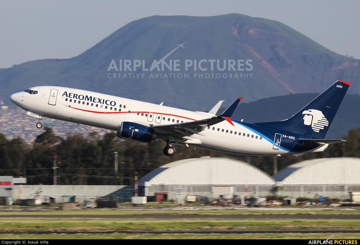 Aeromexico XA-ADU aircraft at Mexico City - Licenciado Benito Juarez Intl
