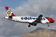 HB-JJN - Edelweiss Airbus A320 aircraft