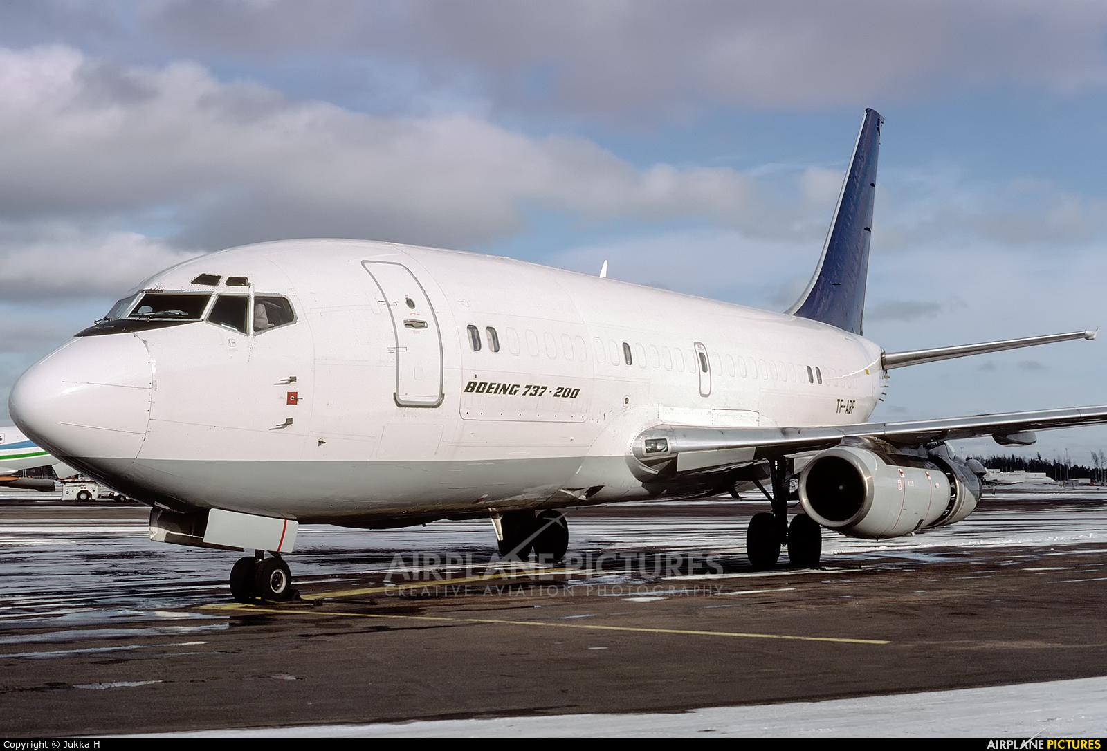 Air Atlanta Cargo TF-ABF aircraft at Helsinki - Vantaa